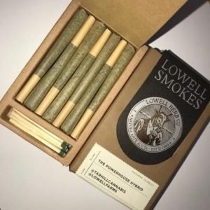 Lowell-Smokes-Pre-Rolls-(7 grams – 3 options)-nightcokesupplies.com